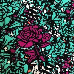 Pants - OS Floral LuLaRoe Leggings